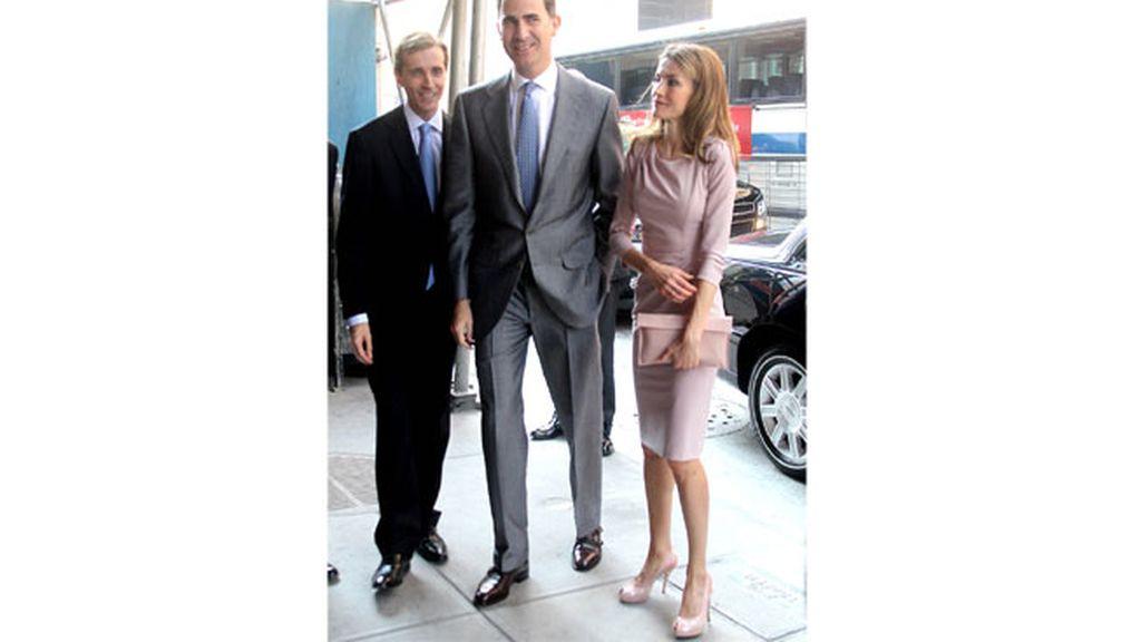 Los Príncipes de Asturias en Estados Unidos