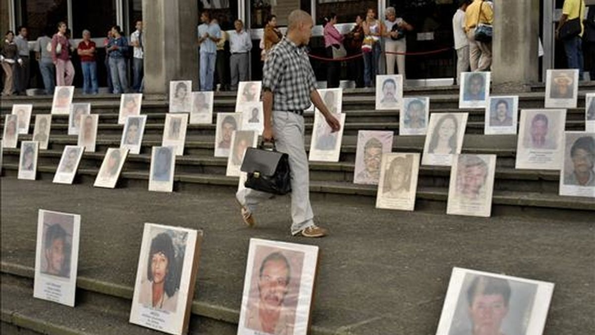 Por no alcanzar el quórum requerido de 22 votos, el Senado rechazó el proyecto que establecía la figura legal de la Declaración de Ausencia por Desaparición Forzada de Personas. EFE/Archivo
