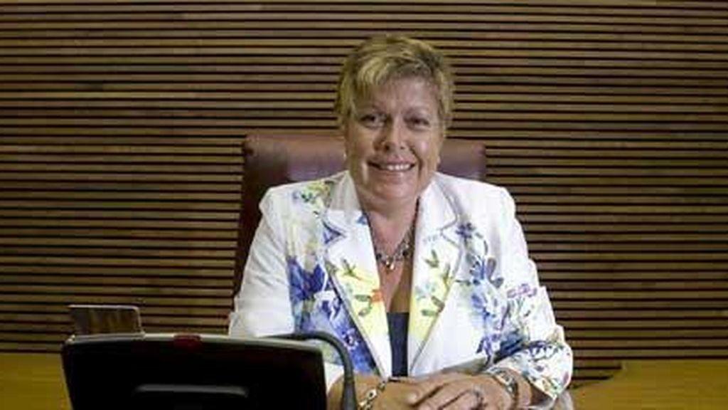 Milagrosa Martínez, exconsejera de turismo de Francisco Camps