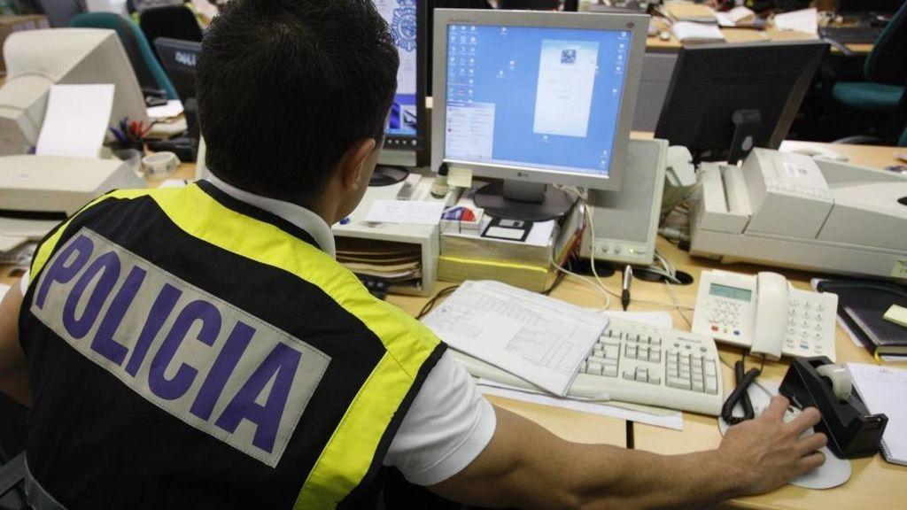 Imagen de archivo Policía Nacional investiga archivos pornografía infantil