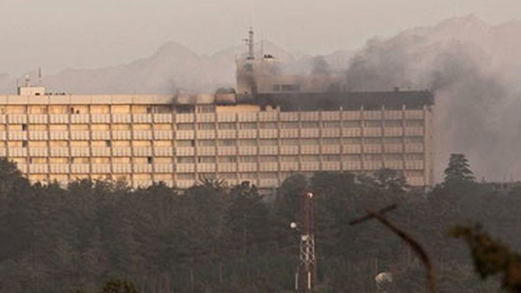 El hotel Intercontinental de Kabul