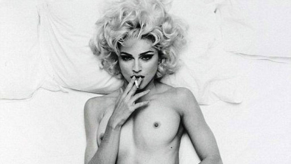 Madonna fumando libro Sex