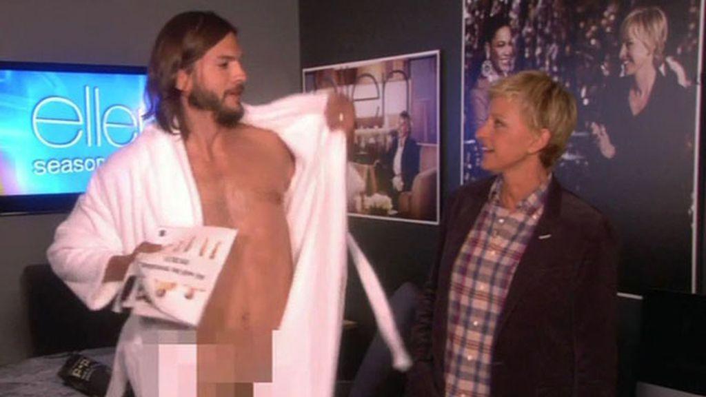 Desnudo integral de Ashton Kutcher