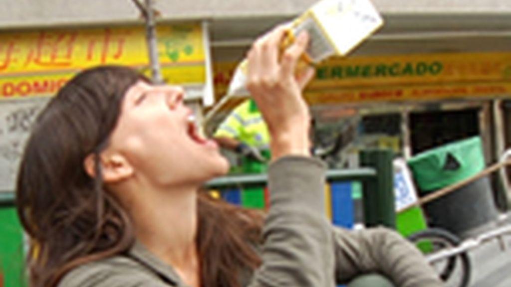 Adela Úcar 21 días bebiendo alcohol