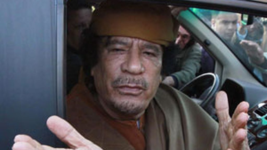 Una de las últimas fotografías de Gadafi este agosto en Trípoli. Foto: REUTERS