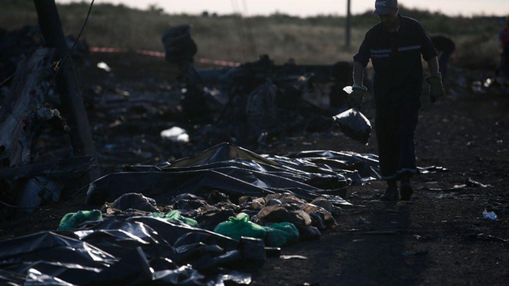 Los cuerpos llevan varios días tirados en el suelo