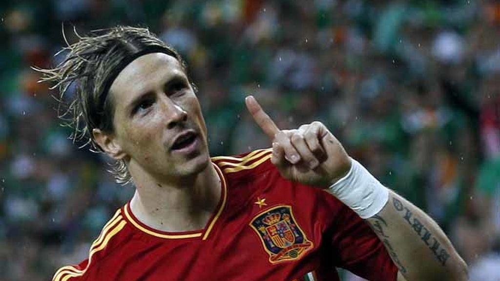 Torres se reivindica tras su golazo en la primera parte