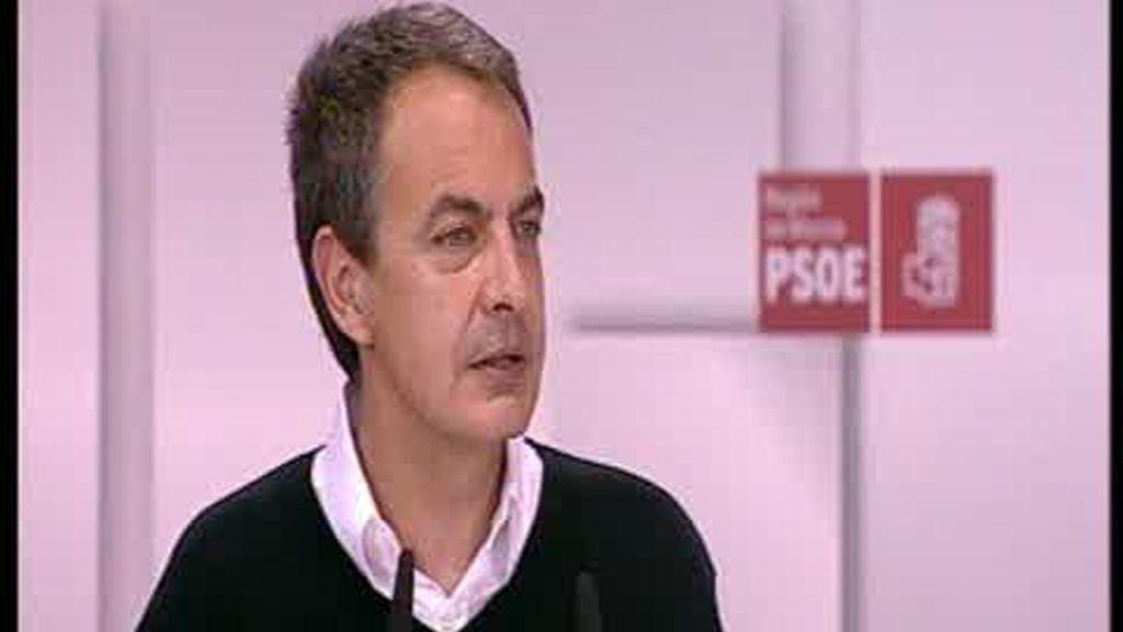 Zapatero pide confianza