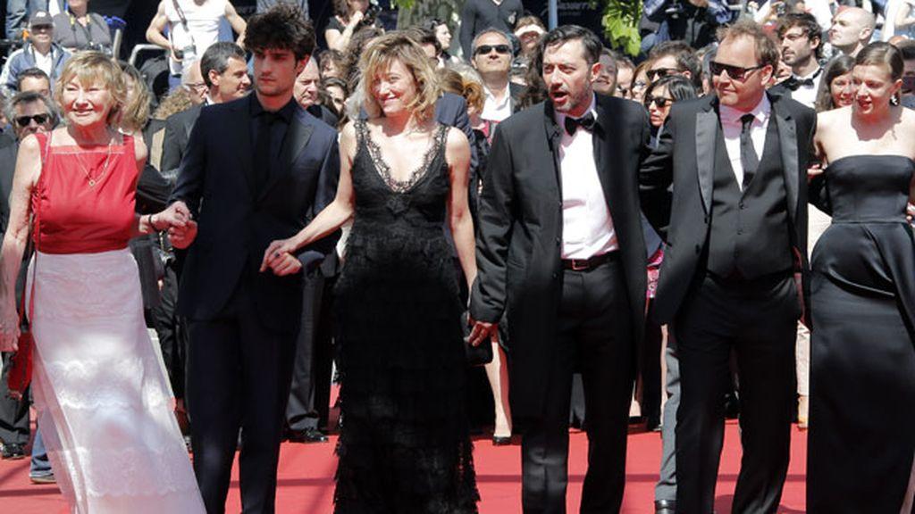 Valeria ya tiene experiencia sobre la alfombra roja de Cannes