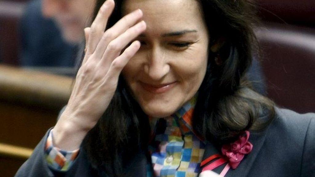 Imagen de archivo de la ministra de Cultura, Ángeles González-Sinde