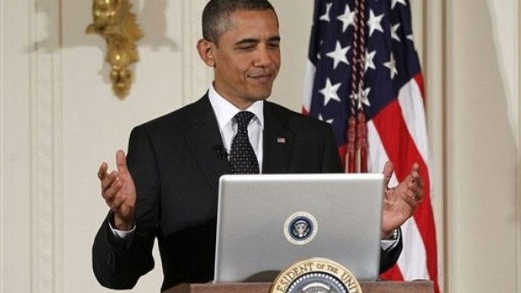 Obama ha constestado a las preguntas de los ciudadanos en Twitter.
