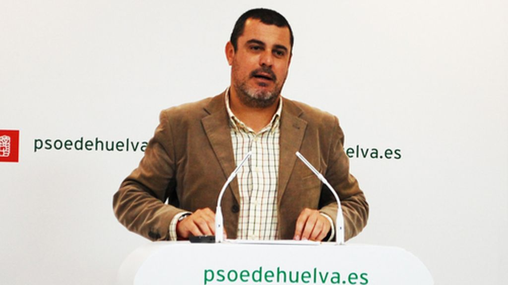 Jesús Ferrera, secretario de organización del PSOE en Huelva