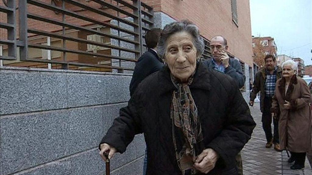 Carmen, desahuciada con 85 años
