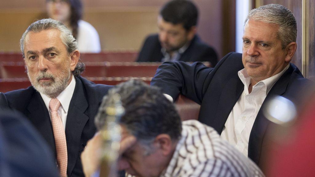 Francisco Correa y Pablo Crespo, miembros de la trama Gürtel