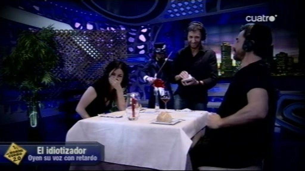 Una cena loca con el idiotizador