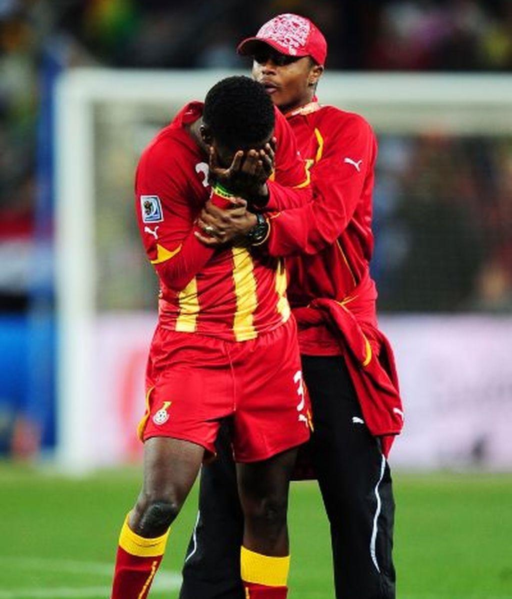Ghana pudo conseguir la victoria en el último minuto de la prórroga. Vídeo: Informativos Telecinco.