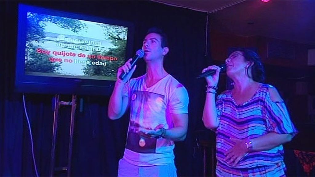Cantando por Julio Iglesias