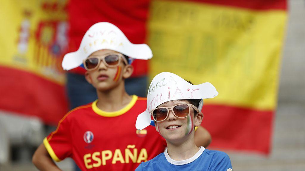 Encuentro entre Italia y España
