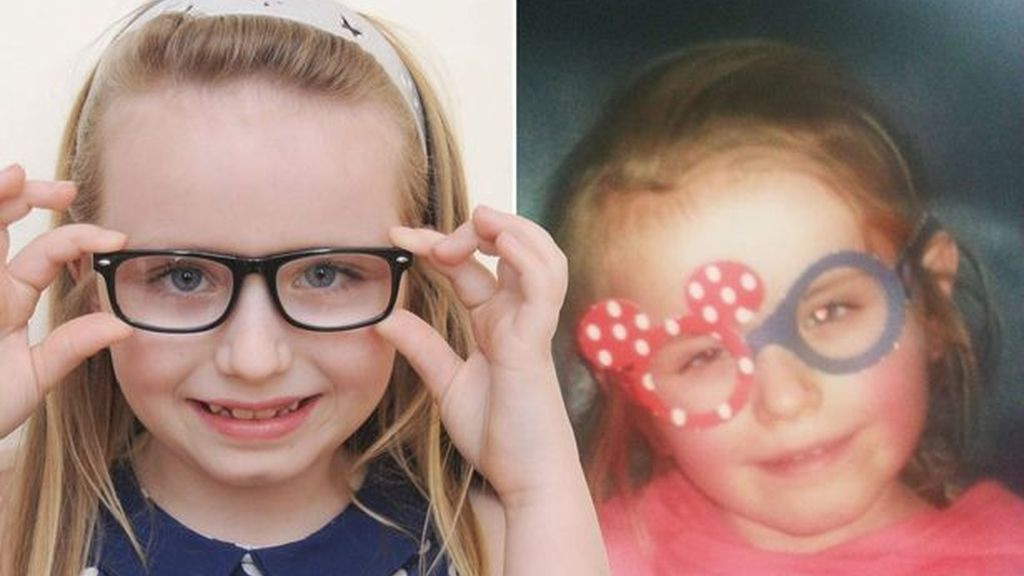 Una foto en Facebook salva a una niña de la ceguera