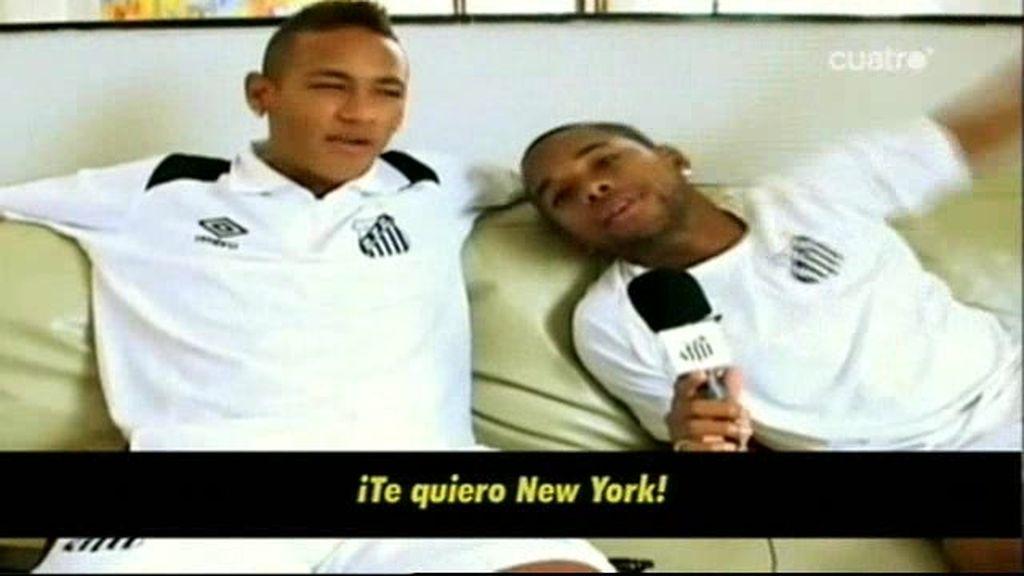 Neymar, en la web