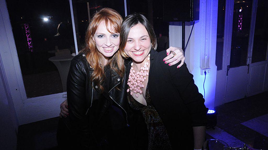Cristina Castaño y Lourdes Verger