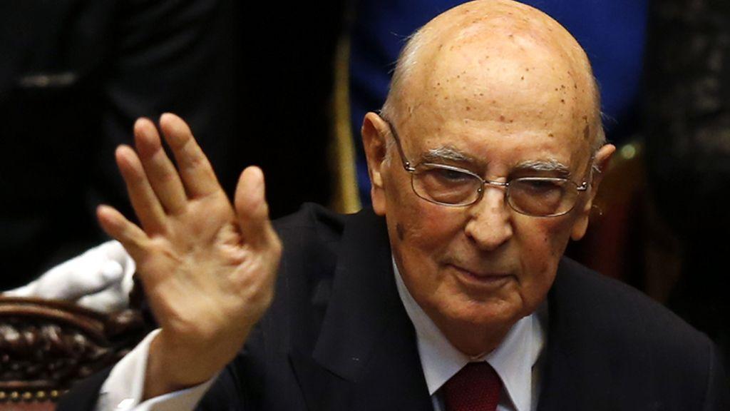 Napolitano toma posesión como presidente de Italia