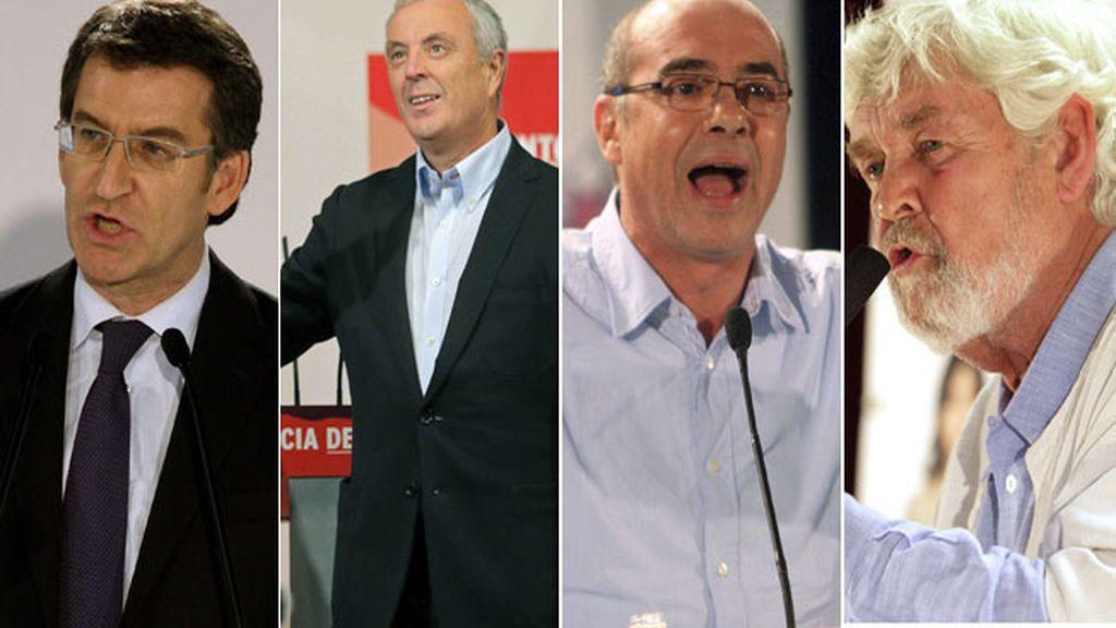 Los candidatos gallegos aprovechan la jornada de reflexión para relajarse