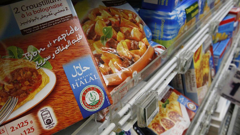 Ordenan vender cerdo y alcohol a un supermercado de comida halal en París