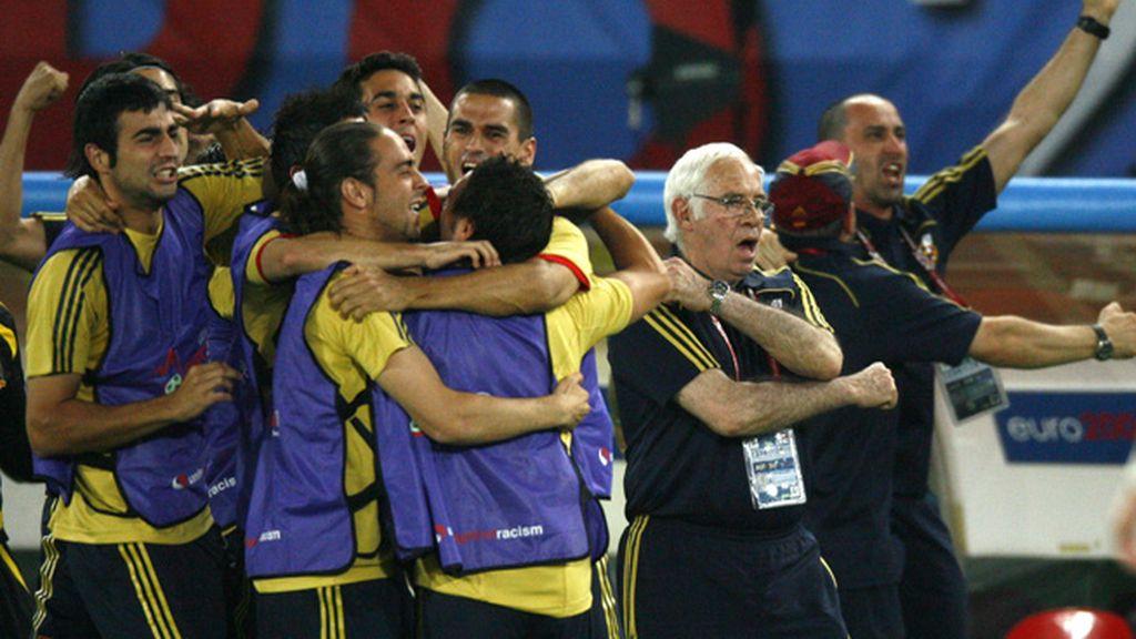2008: Semifinales contra Rusia o la perfección del fútbol