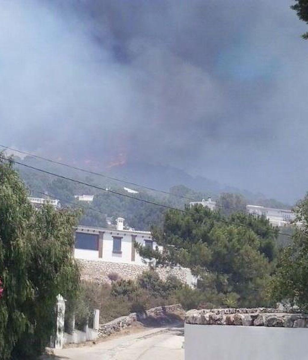 Activan el Plan de Emergencias por incendios forestales en un fuego declarado en Málaga