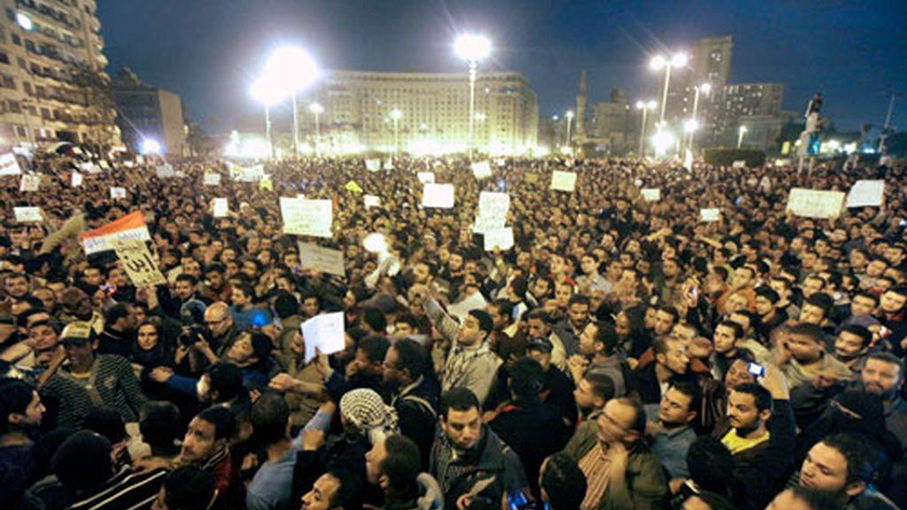 Revolución en Egipto
