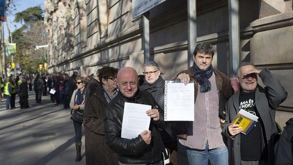 Campaña de autoinculpación en Cataluña