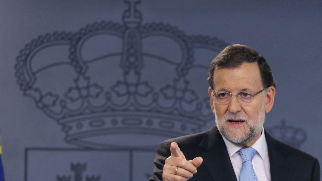 Rajoy habla tras el Consejo de Ministros