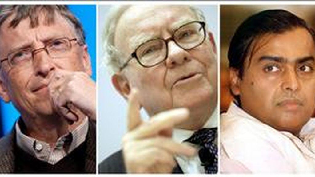 Los hombres más rico del planeta, según Forbes. Vídeo: Informativos Telecinco.