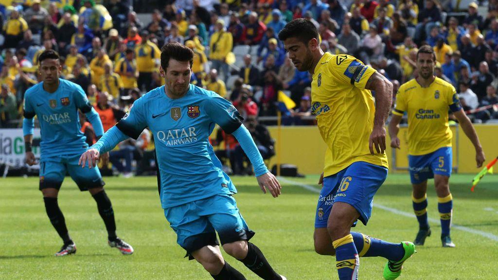 El Barcelona gana en Las Palmas de Gran Canaria