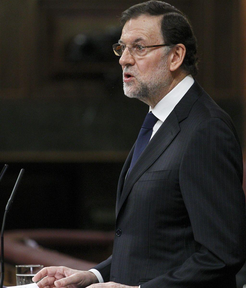 Mariano Rajoy en el Congreso
