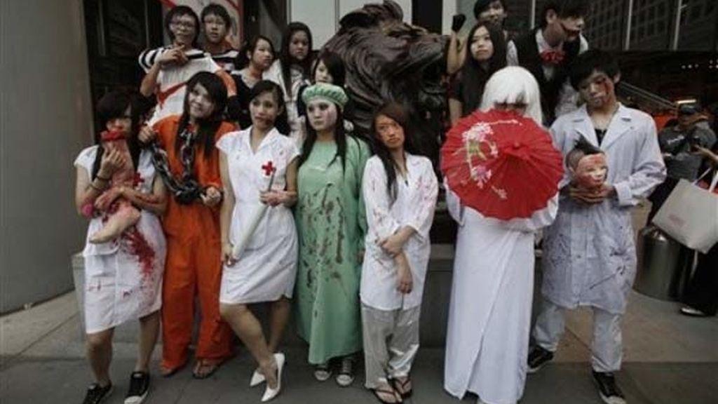 Médicos terroríficos en Hong Kong