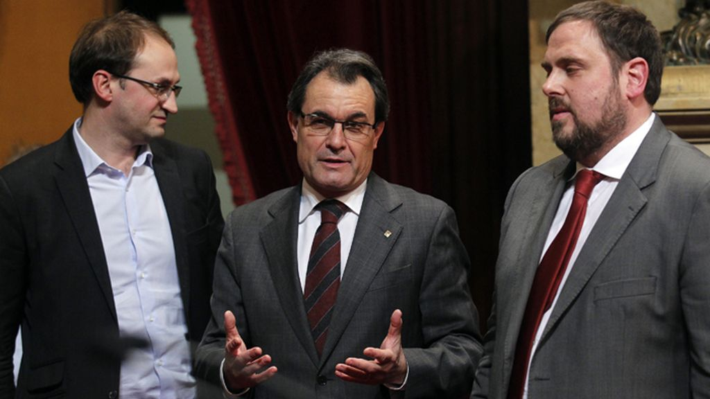 El Parlament aprueba su declaración soberanista