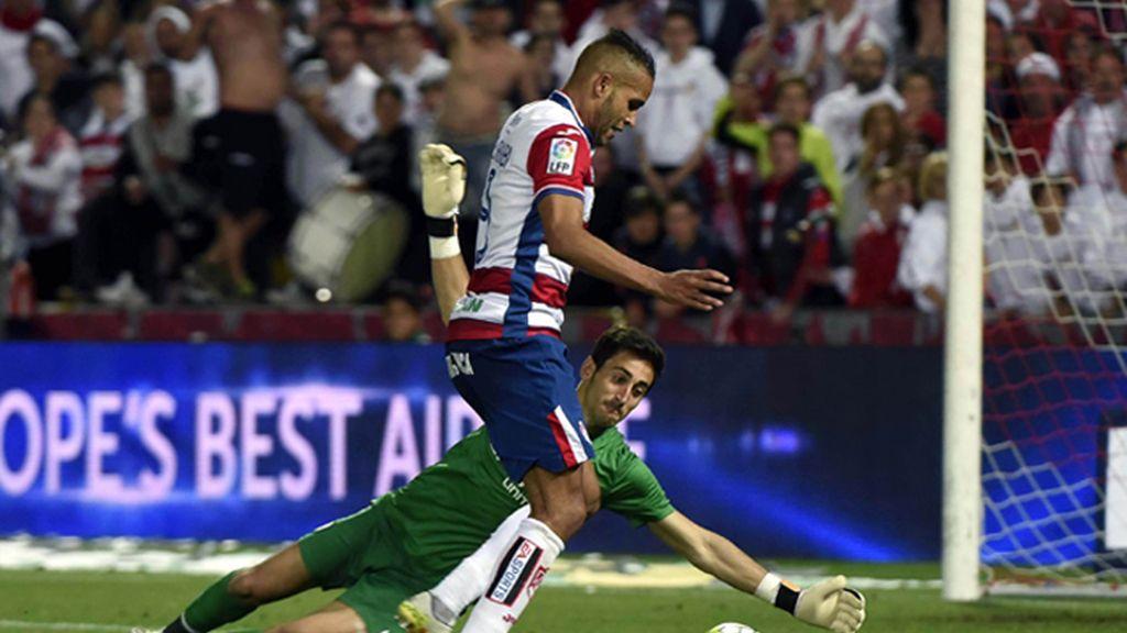 """El Arabi acusa a Diego Mariño de llamarle """"moro de mierda"""" durante el partido"""