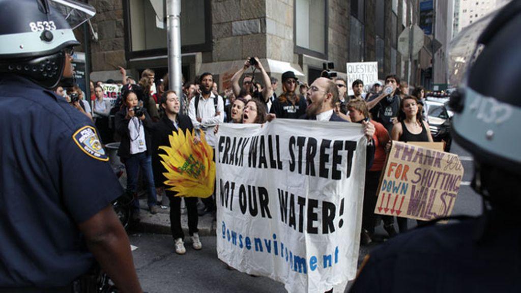 Aniversario del movimiento de Wall Street