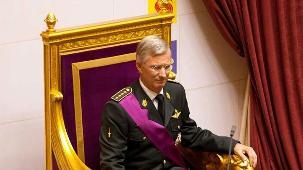 Felipe I se proclama rey de los belgas