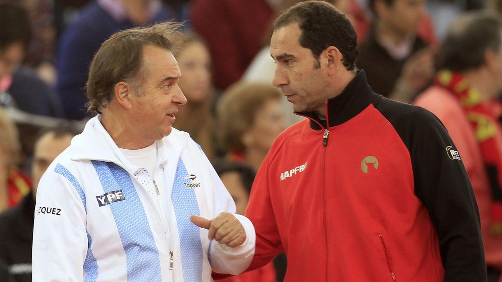 Tito Vázquez y Albert Costa