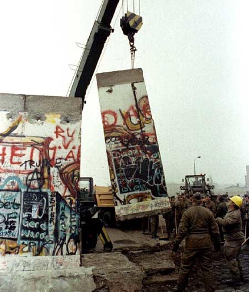 El muro dividió Berlín durante 28 años