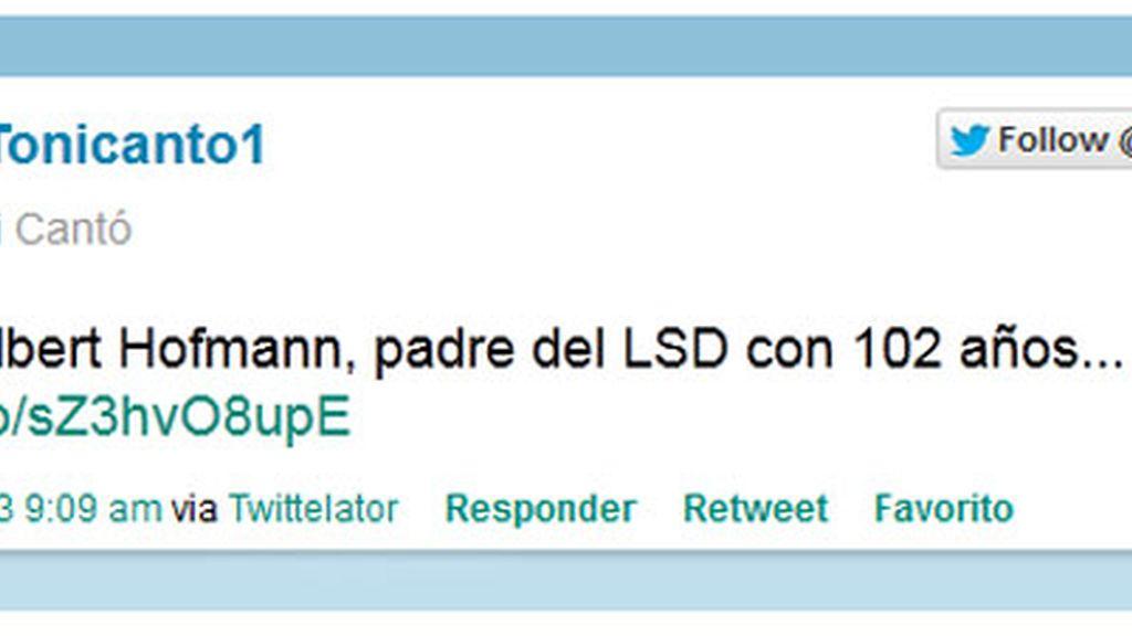 Tony Canto  Twitter
