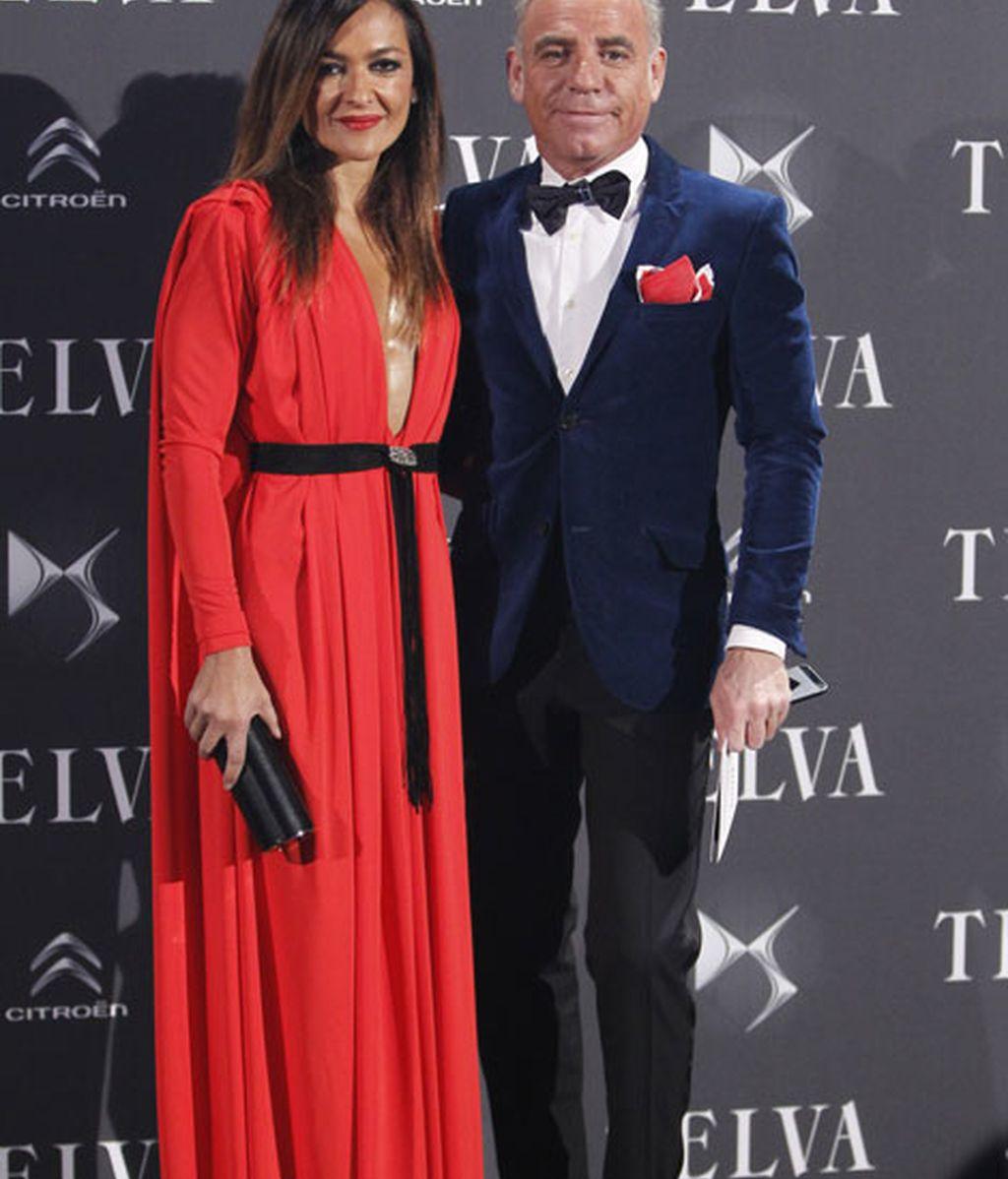 El arquitecto Joaquín Torres junto a su mujer, Mercedes Rodríguez