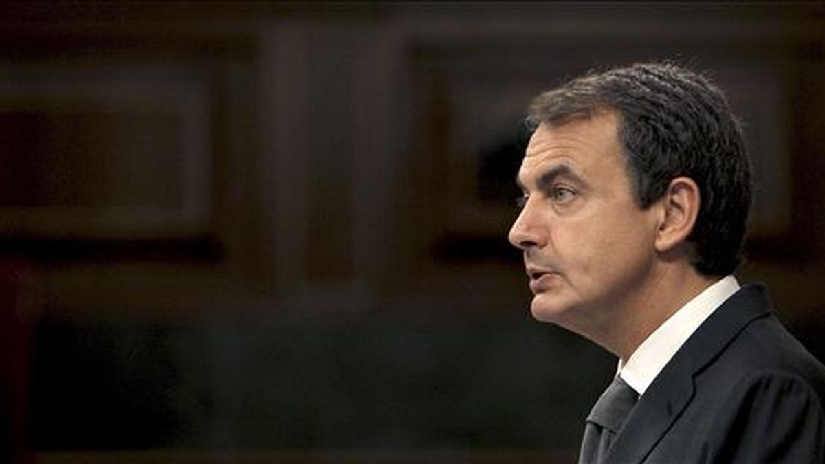 El jefe del Ejecutivo español, José Luis Rodríguez Zapatero. EFE/Archivo