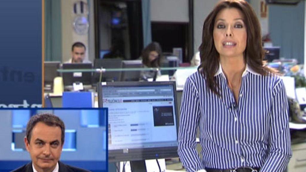 Zapatero, en Telecinco