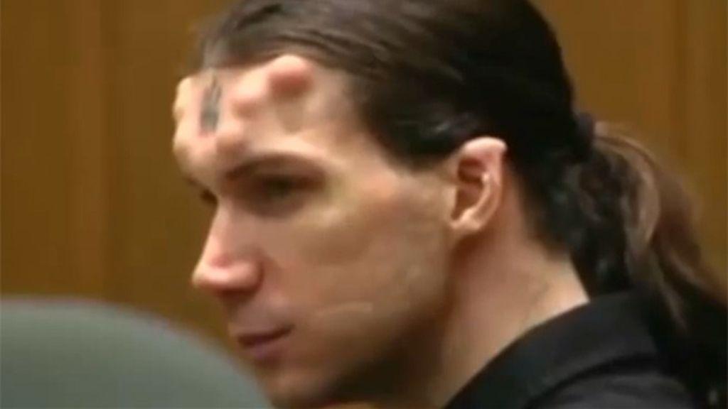'Satanás', el asesino con cuernos y un 666 tatuado