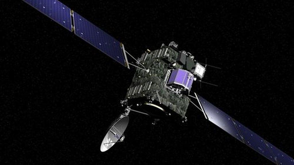 La sonda Rosetta se despierta y llama a casa