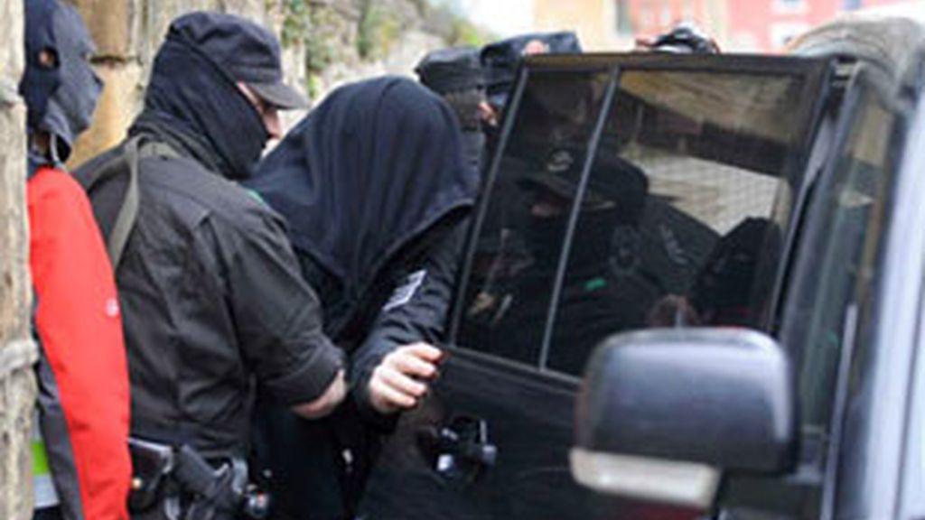 Operación contra la mafia rusa y georgiana coordinada desde España. Vídeo: Informativos Telecinco.